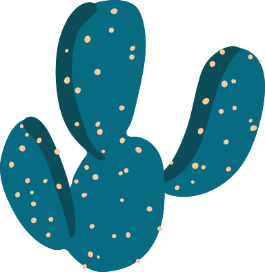 Abstract Cactus