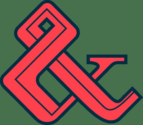 Stylized Ampersand