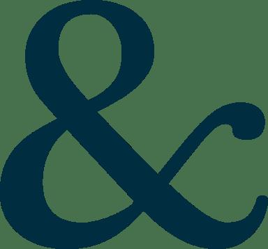 Bold Ampersand