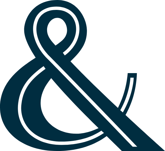 Ribbon Ampersand