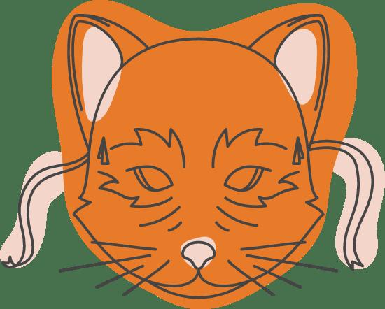 Halloween Cat Mask