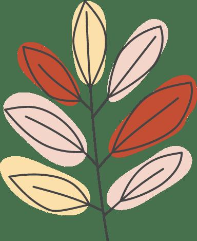 Autumn Leafy Branch
