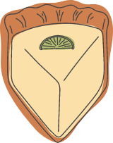 Lime Cheesecake Slice
