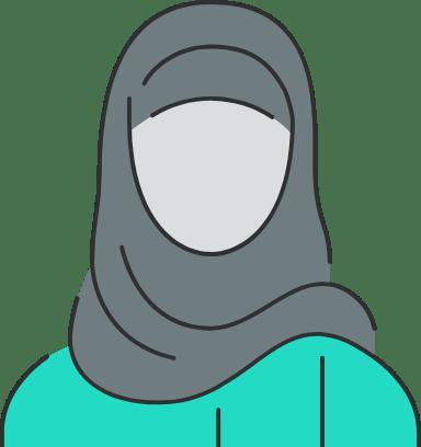 Muslim Woman Avatar