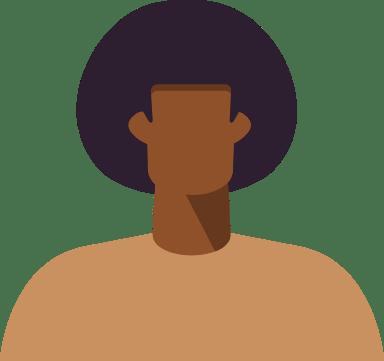 Afro Hair Man