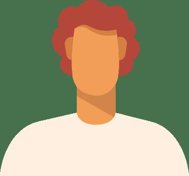 Curly Redhead Man