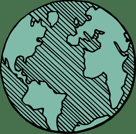 Drawn Globe