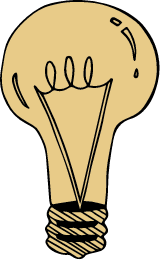 Drawn Lightbulb