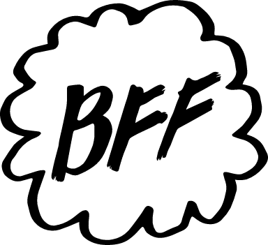 BFF Cloud Text