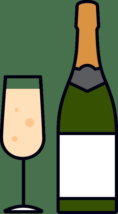 Champagne & Flute