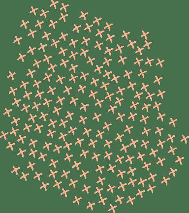 Crossed Blob Texture