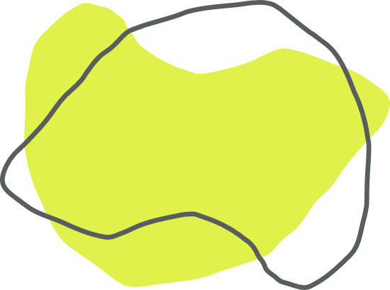 Green Curved Shape