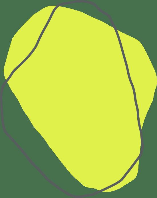 Green Indistinct Shape