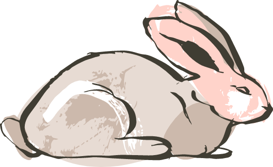 Sitting Bunny