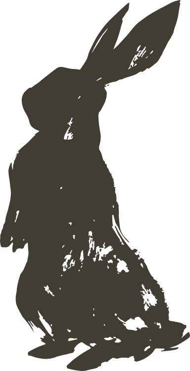 Standing Shadow Bunny