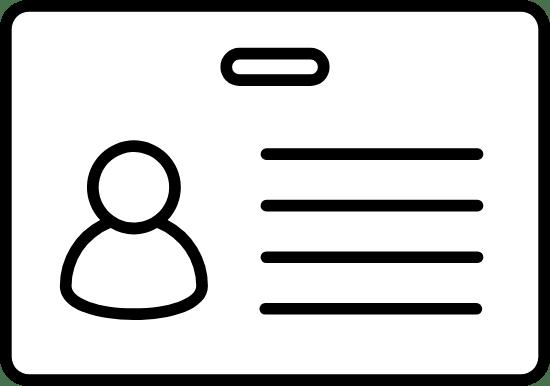 Minimal Photo ID