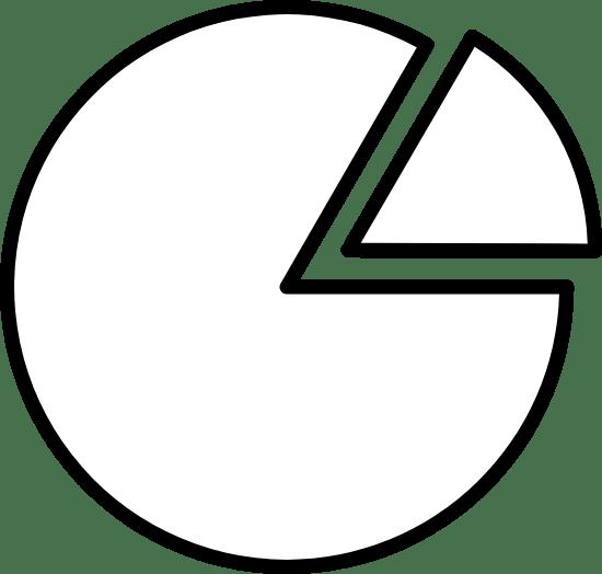 Minimal Pie Chart