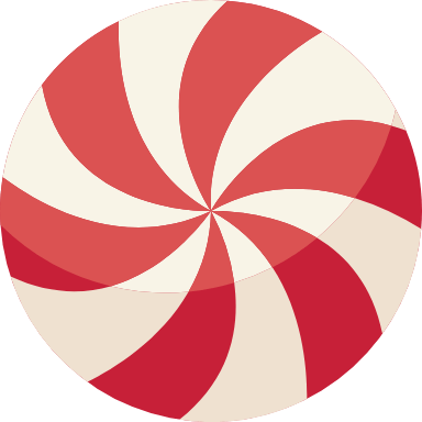 Peppermint Round
