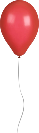 Shiny Red Balloon