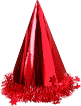 Shiny Party Hat