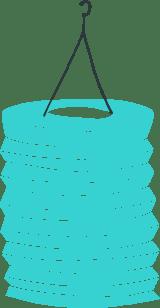 Plain Paper Lantern