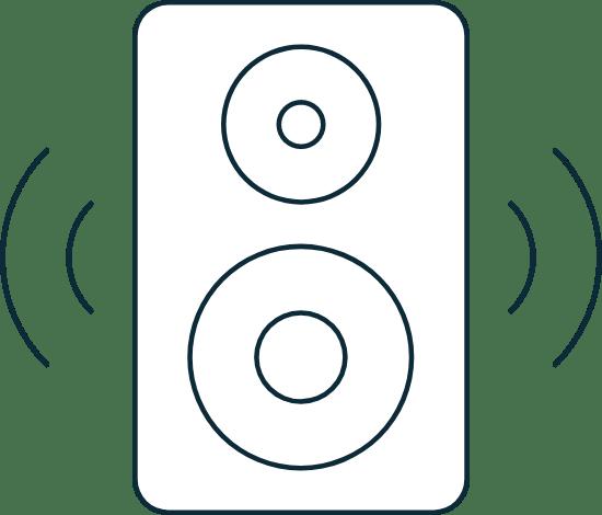 Sparse Music Speaker