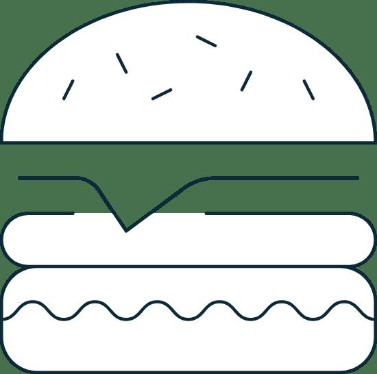 Sparse Cheeseburger