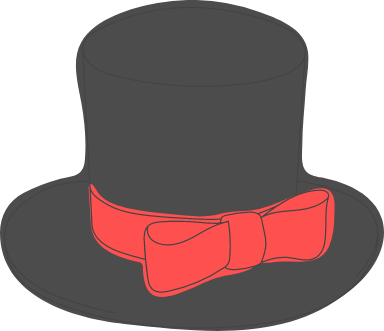 Banded Top Hat