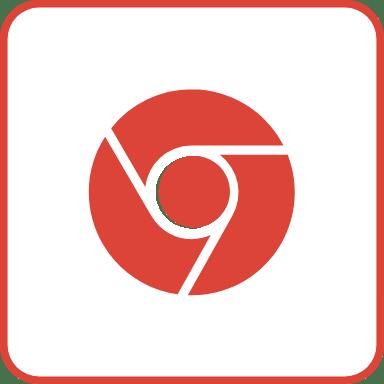 Chrome Outline Square 4
