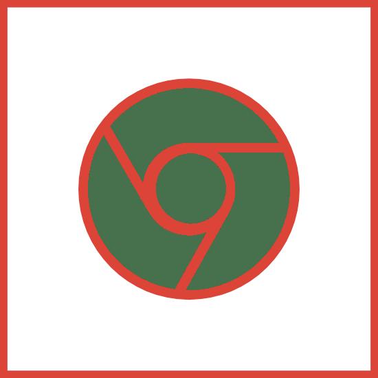 Chrome Outline Square 2