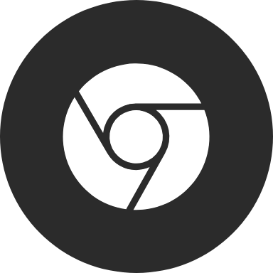 Chrome Thick Circle