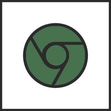 Chrome Outline Square 3