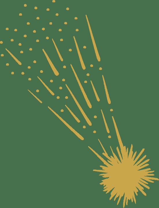 Blazing Comet