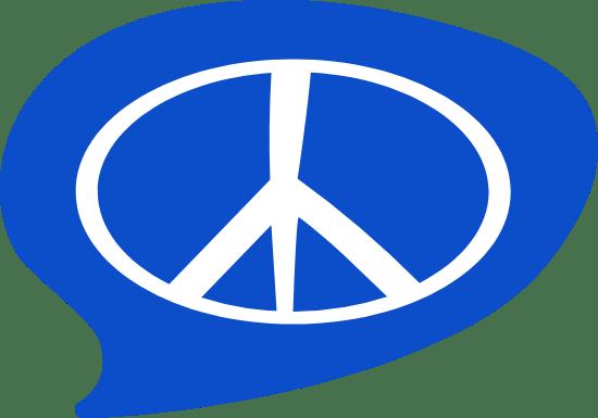 Peace Sign Bubble