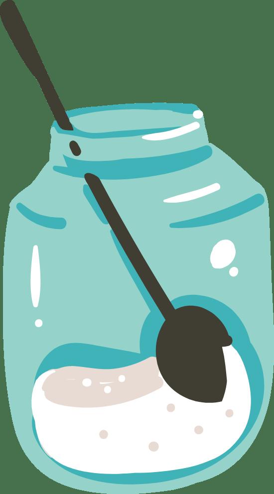 Jar & Spoon