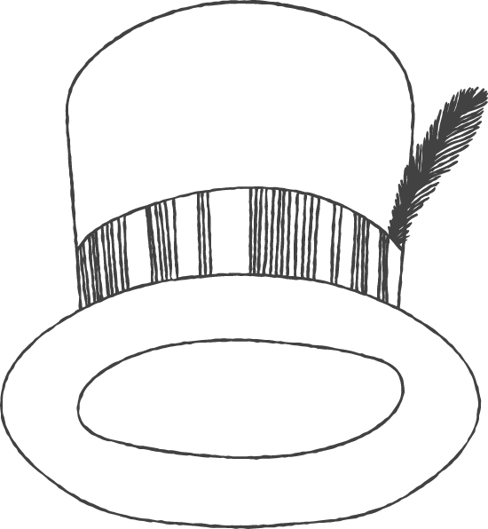 Chalky Top Hat