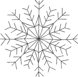 Chalky Snowflake