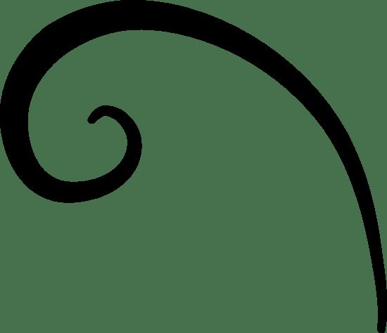 Curved Flourish