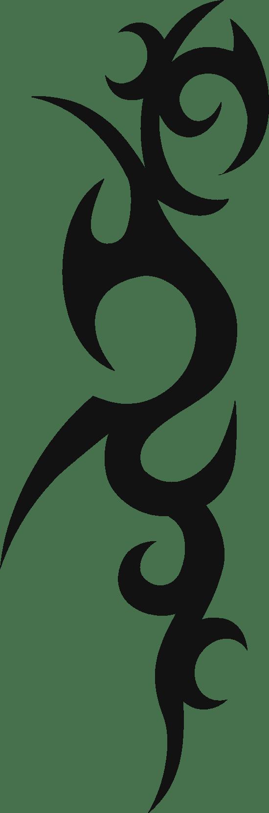 Spiny Tribal Tattoo
