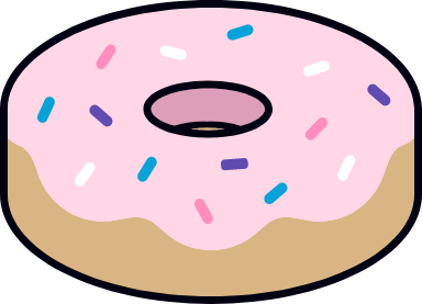 Frosted Donut