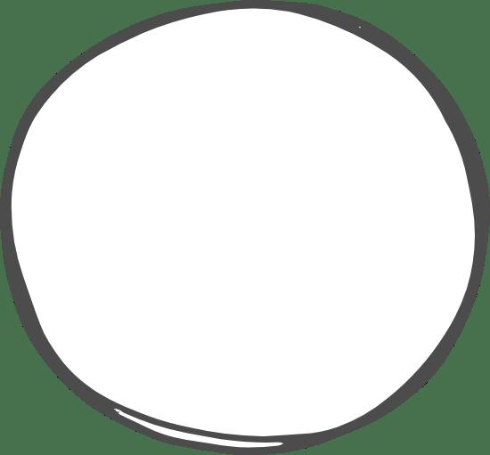Organic Circle Doodle