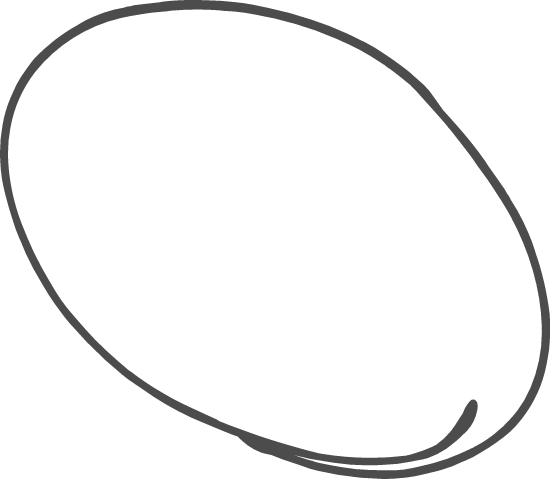 Listing Oval Doodle