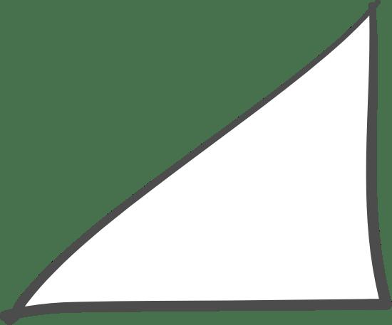 Plumb Triangle Doodle