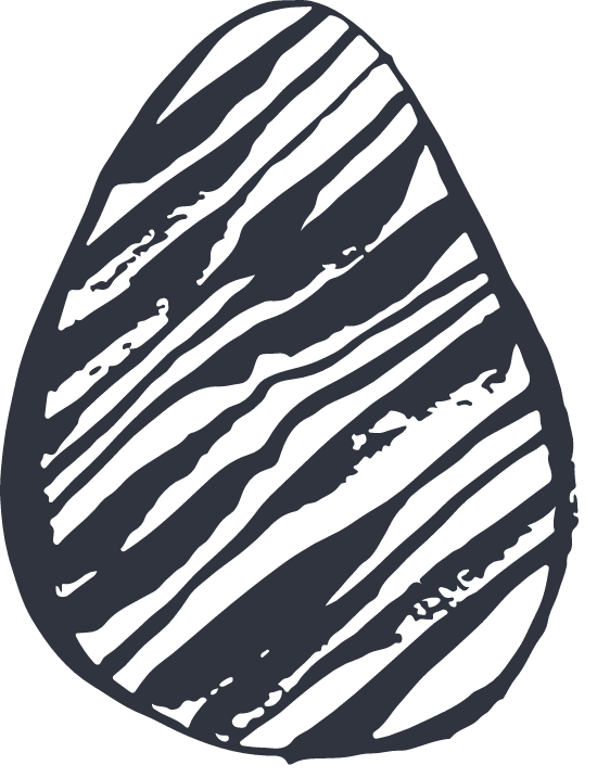 Striated Egg