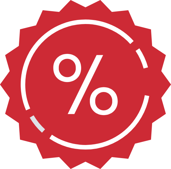Percentage Sticker