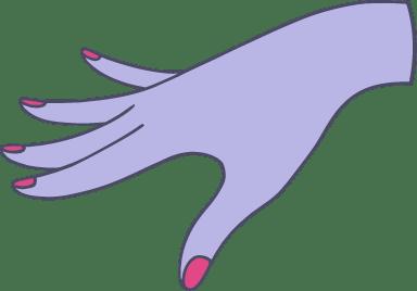 Elegant Open Hand