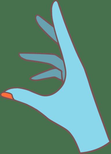 Elegant Reaching Hand