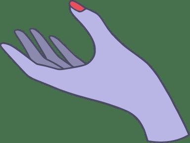 Upward Open Hand