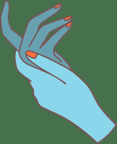 Elegant Hands Pair