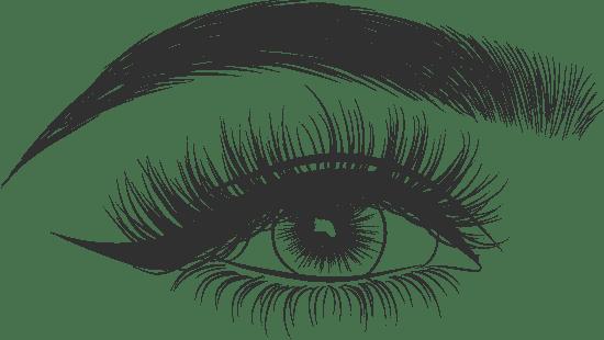 Eye & Curved Brow